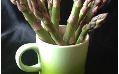 Recipe | Asparagus and Wild Garlic Galette AND a Rhubarb Ramos Gin Fizz