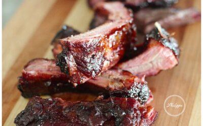 Hickory Smoked Baby Back Pork Ribs
