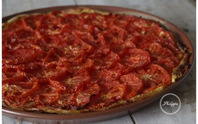Recipe | Tomato and Dijon tart with herbs of the Garrigue