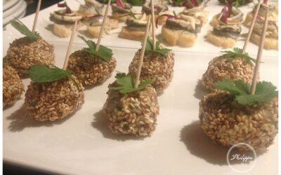 Recipe | Thai flavoured chicken and sesame balls