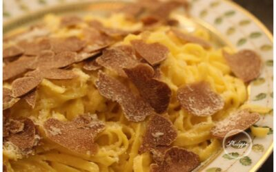 White truffle and butter Taglierini