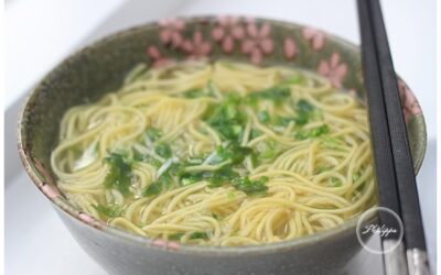 Chicken Noodle Broth with ginger recipe and Ginger sauce recipe